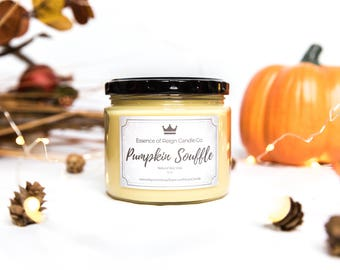 Pumpkin Candle. Autumn Scent. Pumpkin Souffle. Fall Scent. Pumpkin Soy Candle. Soy Candle. Hand Poured Candle. Fall Scented Candle.
