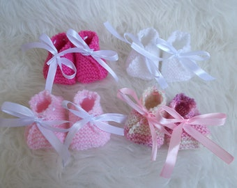 choice of color wool baby shoes