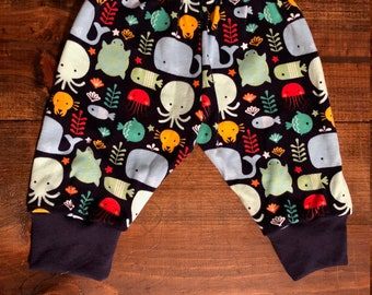 Baby Boy Clothes/Newborn Outfit/Sea Critter Pants