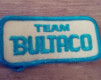 Rare Team BULTACO Motorcycle Patch