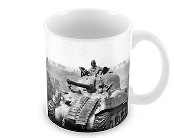 Sherman Tank Ceramic Coffee Mug    Free Personalisation