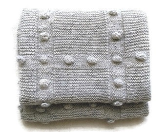 baby blanket-hand knit ALPACA wool baby blanket, cutom blanket, baby shower gift, alpaca wool baby knit, wool blanket, knitted blanket, baby