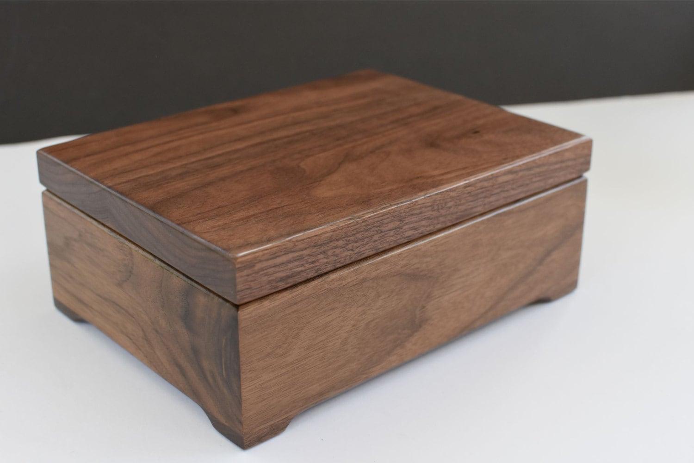 Last Minute Gift Wooden Keepsake Box Custom Engraved Wood