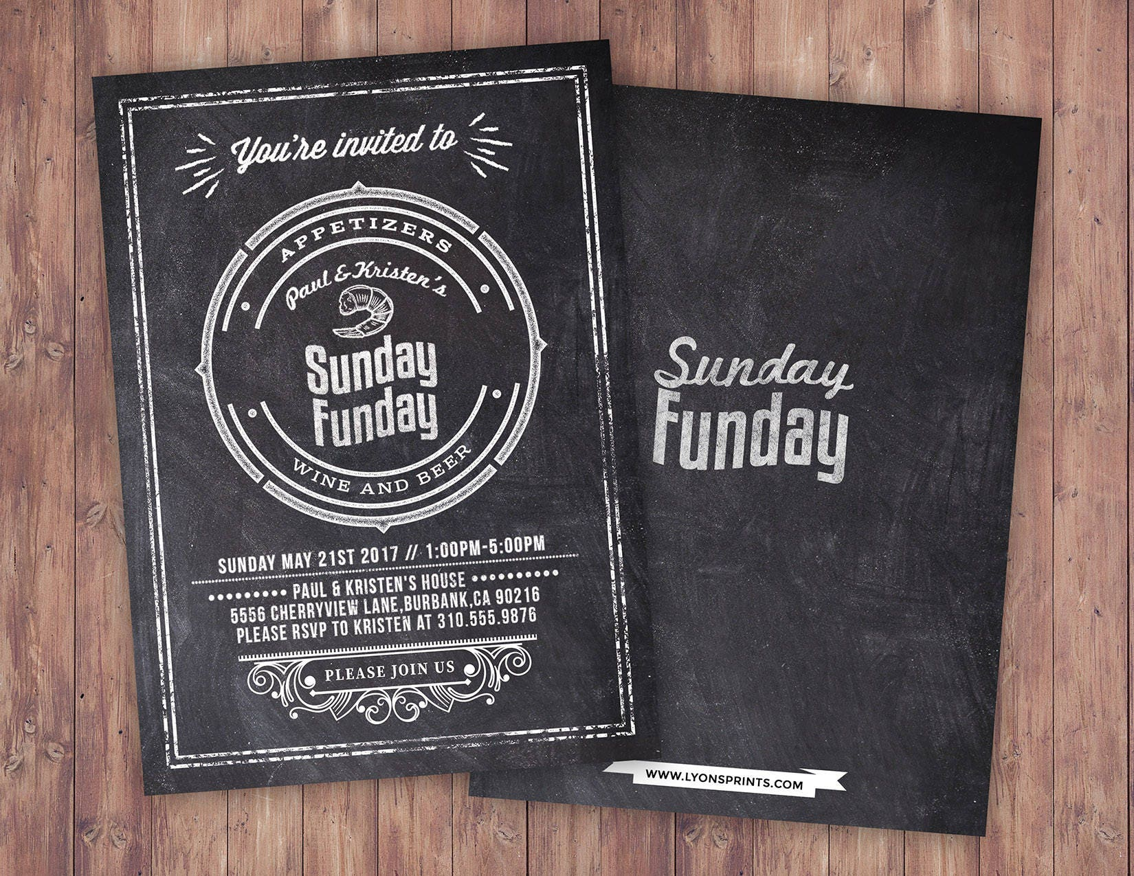 Sunday Funday, Cheers and Beers invitation, football, 21st, 30th ...