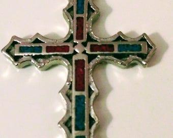 Beautiful Religious Colorfilled Cross