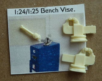 Scale 1:24/25 Bench VISE for your diorama (unfinished)