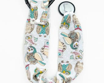 Stethoscope Cover, Medical Student, Nurse, Doctor, Medical Instruments, Stethoscope Accessories, Woodland Owls, Barn Owls, Horned Owls, Owls