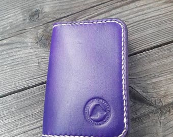 Pattern for a Minimalist Wallet, Minimalist purse, Card Holder