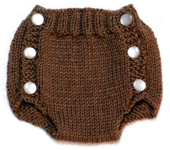 Diaper Cover Knitting Pattern Pdf