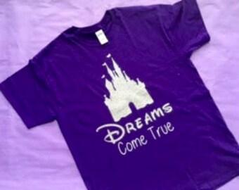 Disney Castle- Where Dreams Come True shirt