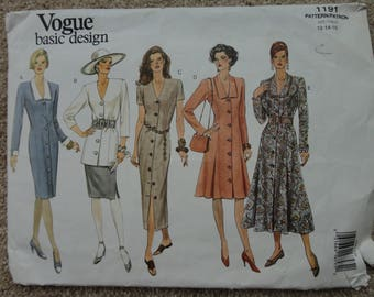Vogue Basic Design Pattern 1191 Size 12-14-16