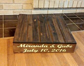 Custom Cake Stand, Wedding Cake Stand, Rustic Cake Stand, Wood Cake Stand, Personalized Cake Stand, Country Wedding decor