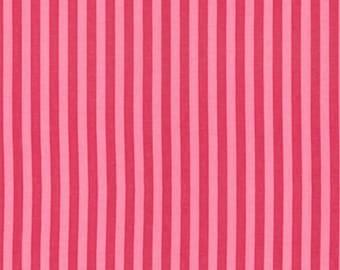 Fat Quarter - Clown Stripe Candy Pink Fabric Michael Miller CX3584-CAND-D