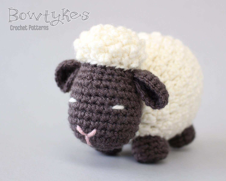 Free Amigurumi Lamb : Argo the amigurumi sheep crochet pattern instant download