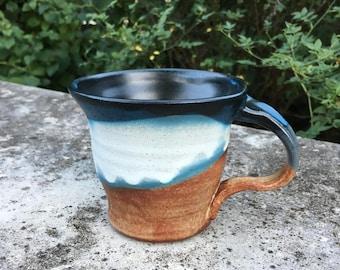 Glazed Stoneware Mug