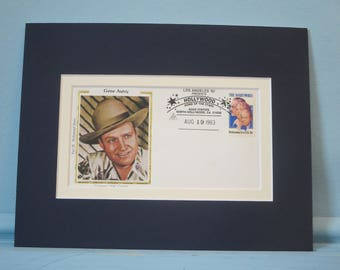Western Movie and TV  Cowboy Star Gene Autry honored by a Commemorative Cover