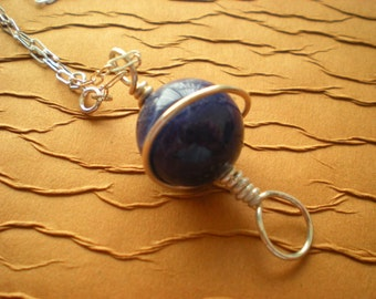 Sodalite Orb Necklace