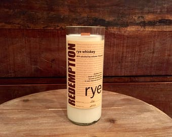 Redemption Rye Whiskey Candle (750ml)
