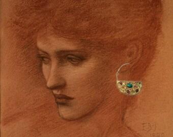 Malachite Multi Gemstone Earrings
