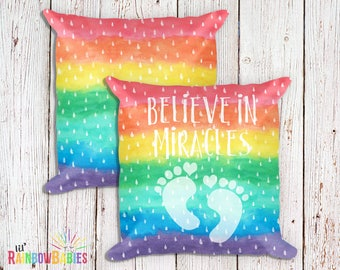 IVF Gifts For Her, Infertility, IVF Baby, Miscarriage, PCOS, Polycystic Ovarian, Rainbow Pregnancy, Miracle Baby, Rainbow Wishes, Baby Dust