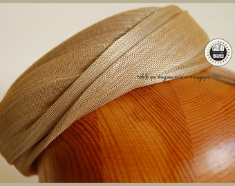 Pillbox Cloe/ Abaca Silk Hat/ Pillbox hat