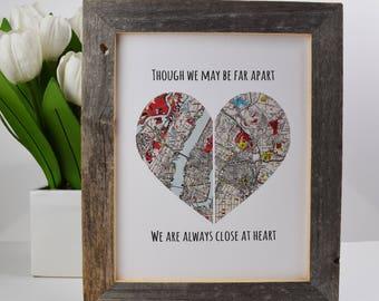 Gift For Girlfriend Boyfriend Going Away Best Friend Long Distance Friendship