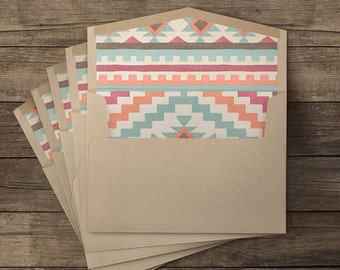 Chihuahua lined envelopes - 10 pieces