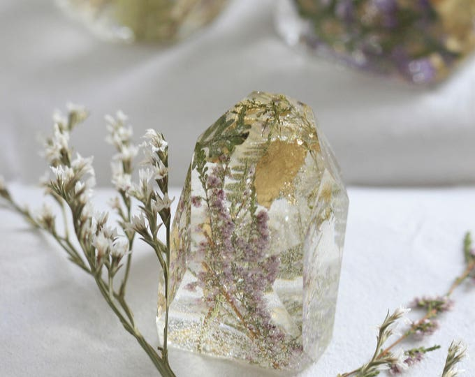 Irish Flower Paperweights | Crystal Paperweight | Botanical | Display | Flowers
