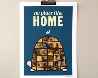 A4 Digital New Home Print No Place Like Home