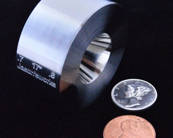 """One .7"""" x .8"""" @ 17 degrees Universal Folding/Reduction Die Hardened Stainless Steel"""