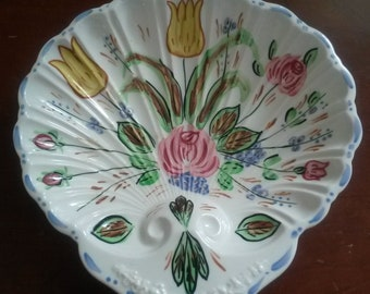 "Blue Ridge Southern Potteries ""Verna""  Candy Dish"