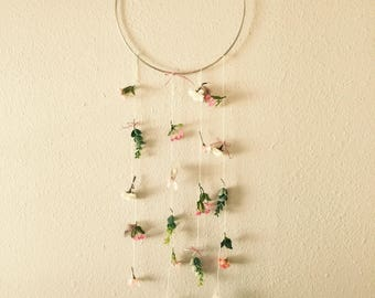 Nursery Decor floral Mobile wall hanging