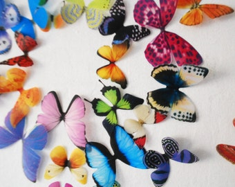 3D Wall Butterflies- set of 20