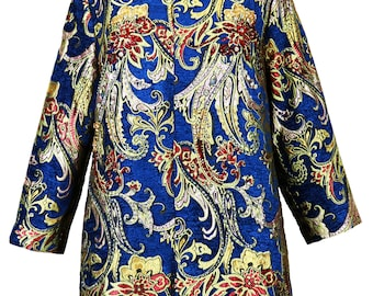 Crystal Beaded Tapestry Jacket