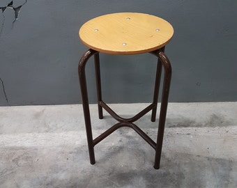 Vintage Industrial Stool Height 55cm, 1960s