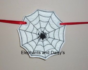 Halloween Spiders Web Banner Design file.