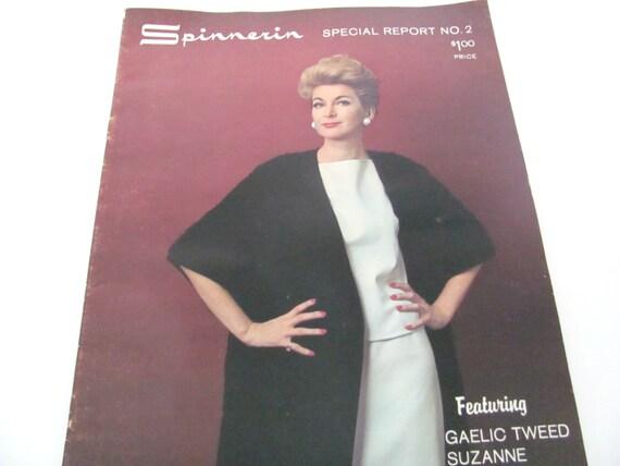 Vintage 1960\'s Knitting, Crochet Booklet, Spinnerin Pattern Book ...