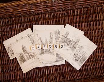 Oxford postcard set