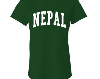NEPAL - Ladies Babydoll T-shirt
