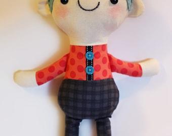 Boy Doll PDF sewing pattern