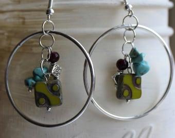 Hoops & Trinkets Dangle Earrings