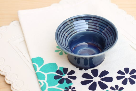 porcelain bowl with flared rims