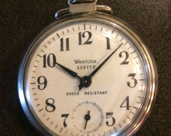 1959-1962 Westclox Scotty pocket watch