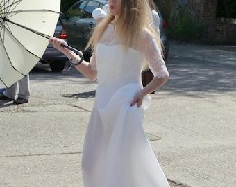 Boho / Hippy / Woodland Wedding / Bridal Gown / Vintage Style Wedding Dress / 'Goda'