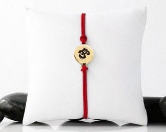 Om Jewelry, Om Bracelet, OM, Yoga Jewelry, Yoga Gift, Yoga, OM Charm, Ohm, Spiritual Jewelry, Yoga Bracelet, Om Symbol, Meditation