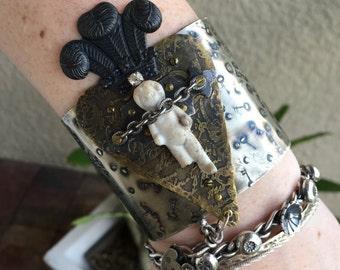 Frozen Charlotte Cuff Bracelet