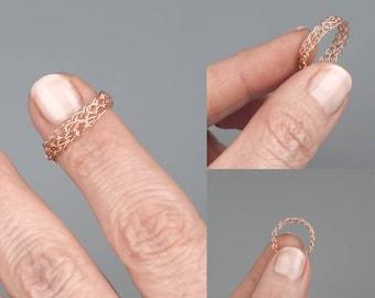Thin band ring Etsy