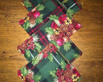Christmas Coasters - Set of 4