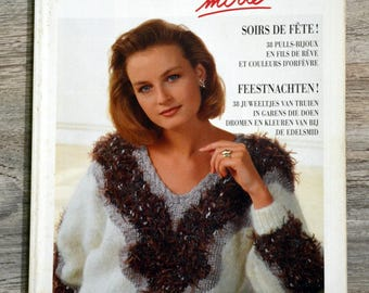 Phildar magazine mesh 185 - festive evenings (knit)