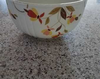 Superior Hall Quality Autumn Leaf Mixing/Serving Bowl - Dinnerware - 1930's - Vintage Kitche